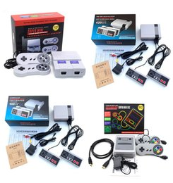 Wholesale Playstation Systems - Super SFC 621 Games Consoles NES 500 620 Classic Games TV Video Handheld Game Console Entertainment System with Super HDMI Mini 400 Games