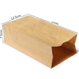 favores de comida Desconto 10 pc / lote Sacos de Presente de Papel Kraft Marrom Embalagem de Doces De Casamento Reciclável Jóias Pão De Alimentos Compras favores do Partido Sacos Para Boutique