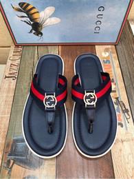 b65d6640126d24 SANDALS Non-slip slippers flip flops 207536 Men Slippers Slippers Drivers  Sandals Slides Sneakers Leather Slipper