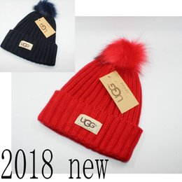 c53bcc3700e ladies cowboy hats Coupons - Wholesale-2018 new ladies winter warm wool hat  plus ball
