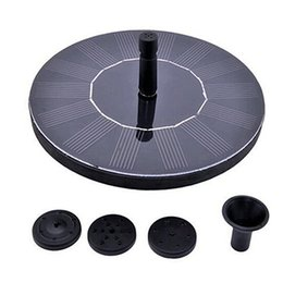water fountains pump Coupons - Floating Water Pump Solar Panel Garden Plants Watering Power Fountain Pool Decor