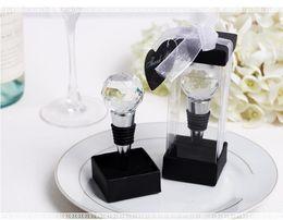 стеклянные декантеры оптом Скидка Оптовая новый свадьбы пользу вина пробка винная пробка хрустальный шар вина металла открывалка для бутылок Бесплатная доставка