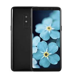 Wholesale Android 128gb - 6.2 inch 2960*1440 Full Screen Goophone 9 Plus 4G LTE 64GB 128GB 256GB Octa Core Face ID Iris Fingerprint Dual Rear 12.0MP Camera Smartphone