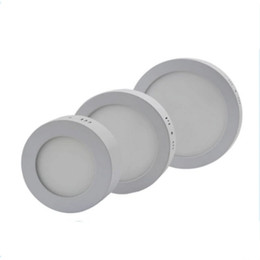 Wholesale Hotel Panel - Dimmable AC85~265V 6W 12W 18W 24W Round LED Surface-Mounted Panel Light LED Downlight For Dining Room Kitchen Hotel