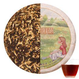 Wholesale Green Chrysanthemums - Promotions! 100g China Yunnan Pu'er tea cooked tea, chrysanthemum tea flavored green tea green food health