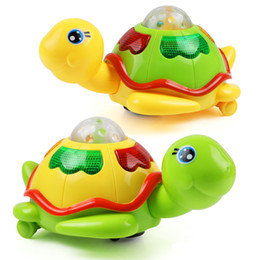 Wholesale Lay Egg - 1Set Plastic Cartoon Animals with Electric Funny Tortoise Can Lay Eggs Sounding Music Early Learning Educational Toys for Kids