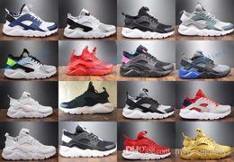 2017 воздуха Huarache 4 Ив ультра идентификатор мужские женские кроссовки Huaraches плести настроить запуск Huraches 2018 Hurache кроссовки спортивная обувь 36-44 от