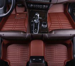 alfombras de piso bmw Rebajas Para alfombras personalizadas alfombrillas para automóviles para BMW x1 x3 x4 X5 X6 M4 M5 M6 2010 2012 2014 2017 2018 años Car-styling Car Mats jarrón 2114