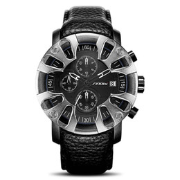 Wholesale Car Battery Water - Hot Luxurious sports car Quartz Watch Cool Men Domineering military Watches Tire shape Waterproof unique design Sports wristwatch stereoscop