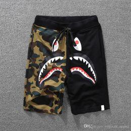 shorts, shorts, roupas de designers skate verão de algodão joelho blended cintura média dos homens retirar tipo de Fornecedores de calças de vestido azul do exército