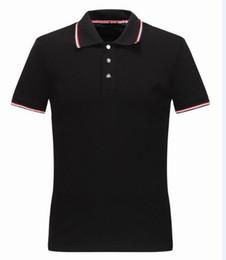 Wholesale france style - M18931 New arrivel summer men's mon Luxury brand polo t-shirt fashion t shirt short-sleeved men classic polos france style