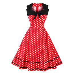 Plus size cocktail club dress mulher curto mulheres vintage casual uma linha vermelha branca polka dot maxi senhora praia qua cosplay s-4xl de Fornecedores de vestidos de casamento de praia curta vermelho