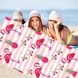2019 toalha de fibra Venda quente 15 cores de fibra superfina ao ar livre toalha de praia moda toalha de impressão digital toalha de banho T3I0210 toalha de fibra barato