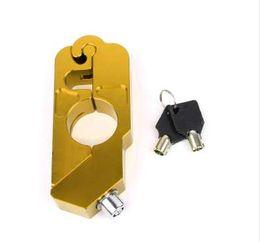 Freni d'oro online-Protezione del furto di sicurezza freno antifurto per moto nero / nero / rosso Protezione del furto del motorino Freno del motorino