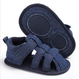 sapatos de bebê sola Desconto Adorável Infantil Criança Crianças Baby Boy Girl Unisex Sapatos de Verão Macio Único Berço Vaca Muscle Outsole Sandálias 0-18 Meses Helen115