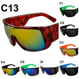 Wholesale Polarized Ski Sunglasses - Outdoor Skiing Goggles Plastic Frame Anti UV Sun Glasses For Men And Women Wide Leg Design Sunglasses Factory Direct 12od B