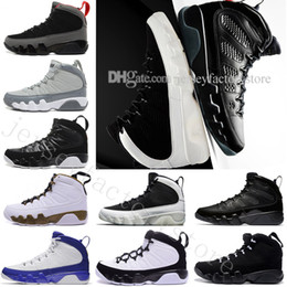 Wholesale new tours - Wholesale New 9 9s mens basketball shoes LA Bred OG space Jam Tour blue PE Anthracite The Spirit Johnny Kilroy sports trainers Sneakers US 7