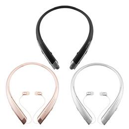 шумовой шум Скидка HBS-1100 Беспроводная Bluetooth-гарнитура для наушников Hi-Fi Platinum для LG Tone Platinum HBS-1100 CVC6.0 Шумоподавляющие наушники