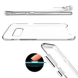 2019 ячейка из геля Акриловый чехол для Iphone XS MAX XR X 10 8 7 Plus 6 6 S Galaxy S9 S8 Примечание 9 8 ударопрочный жесткий пластик + мягкий TPU гибридный сотовый телефон гель крышка дешево ячейка из геля