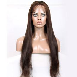 2019 perucas de platina blonde de renda cheia 2018 novo 100% não transformados remy virgem do cabelo humano # 3 naturais em linha reta peruca cheia do laço para as mulheres