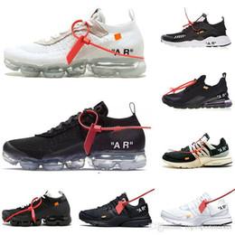 classic fit 08034 53ff6 Off white X Nike Air Max vapormax presto huarache 270 Nouveau Off Zoom Fly  Presto Huarache Hommes Femmes Blanc Noir Marque De Luxe Designer Baskets De  Sport ...