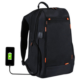 Vêtements de voyage en Ligne-Sac à dos de chargement extérieur pour appareil photo sac à dos avec port USB Sac de voyage respirant imperméable résistant à l'usure anti-vol