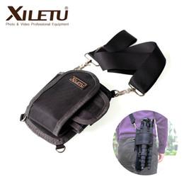 dslr kameragurt Rabatt XILETU LP-1 professionelle feste Stativtasche Monopod Hülse Portable Kit Hüfttaschen leichte Tasche mit Gürtel für Kamera DSLR
