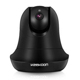 Wholesale Indoor Audio Systems - KEEKOON 1080P IP Camera Wireless Wifi Baby Monitor Plug Play Pan Tilt 2-Way Audio Night Vision Home Surveillance Security Alarm System