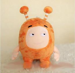 2019 scooby doo juguetes 35 CM Oddbods Newt Buuble Pogo Zee Jeff Fuse Slick Plush Dolls juguetes de peluche para niños regalo de Navidad