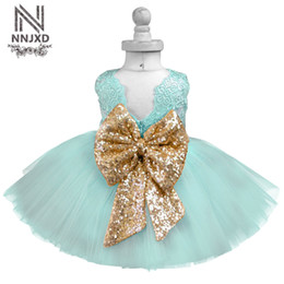 Wholesale Birthday Party Outfits - Luxury Baby Dress Kids Party Dresses For Girls Clothes Little Girl 1-5 Years Birthday Outfits Children's Clothing Girl Ceremony