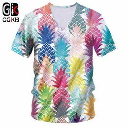 c6e93d8252e OGKB Sexy Deep V Neck Tshirt New Harajuku Women men s Funny Print Green  Tongue 3d T-shirts Man Short Sleeve Tee Shirts Unisex