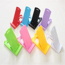 Samsung flexible telefontablette online-Faules Telefon stehen faltbare flexible Mini-Handyhalter Kunststoff Bed Display Telefone für iPhone 5 6 7 xs Tablet Samsung Galaxy