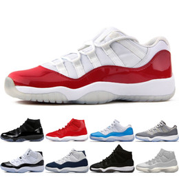 abiti di velluto blu Sconti 11 11s Cap and Gown Prom Night Night Uomo Scarpe da basket Platinum Tint Gym Red Bred PRM Velvet Heiress Blue Barons Concord 45 mens Sneakers sportivi