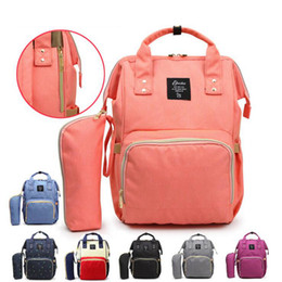 Wholesale nappy travel - Mommy Backpacks Nappies Diaper Bags Large Capacity Waterproof Maternity Backpack Mother Handbags Outdoor Nursing Travel Bags OOA3370