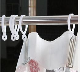 750 stücke Neue Vorhangstangen Duschstange Haken Kleiderbügel Weiße Farbe Kunststoff Ring Bad Drapieren Schleife Verschluss drapierung Heimgebrauch Clips ZA0773 von Fabrikanten