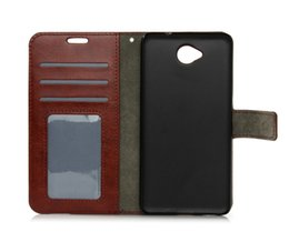 Wholesale wallet xl - For Nokia 3 5 6 550 650 PU Wallet Leather Case Card Slots Kickstand Frame Phone Case Cover For Nokia Lumia 950 XL