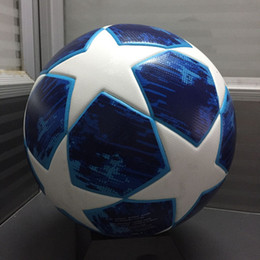 2019 Liga de campeão da Europa Bola de futebol tamanho PU 5 bolas granulado  antiderrapante futebol Palavra Copa futebol Inglaterra liga Bola de futebol c248e17e82616