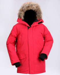 parkas for winter Promo Codes - Mens Goose Down Coat Winter Warm Jacket For Windbreak Thickening Ou Coat Working Climbing Parka