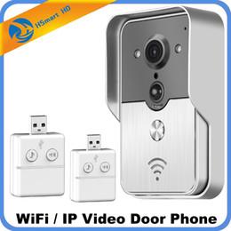 4g camera outdoor Desconto 3G sem fio 4G Wifi vídeo porteiro Intercom 720P HD cartão SD Camera Outdoor IP Porteiro Sistema Doorbell P2P Detecção de Movimento