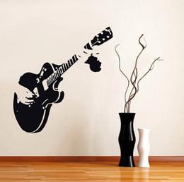 Canada nouvelle musique vinyle guitare guitariste musique sticker mural citation décor maison murales livraison gratuite cheap stickers music free shipping Offre