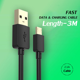 Wholesale Quick Meter - 2018 2 meters For Iphone 6 Cell Phone Chargers Cables Mobile Phone Charging Cable Quick Data