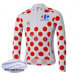 2019 tour jersey jersey Tour de france equipe ciclismo inverno térmica fleece jersey esportes ao ar livre tops desgaste da bicicleta roupas de manga longa mens y53048 desconto tour jersey jersey