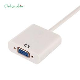 видеокабель vga svga Скидка Ecosin2 Adapter HDMI to VGA SVGA RGB 1080p HDTV Video Adapter Cable Converter XBOX PC PS3 Cable Converter April12