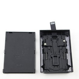 Siyah Sabit Disk Sürücüsü HDD XBOX 360 Slim için Dahili Kasa Muhafaza Shell Kutusu DHL FEDEX EMS ÜCRETSIZ KARGO nereden