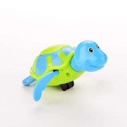 Piccoli bambini appena nati Swim Turtle Toys Bath Swim Clockwork Tartaruga Giocattolo Piccolo bagno da bagno Giocattoli classici da