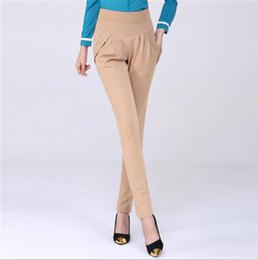 0c85d7fef2d 2016 autumn Winter fashion high waist harem pants pants women office OL  style work wear skinny female vintage trousers 6XL women casual work  trousers on ...