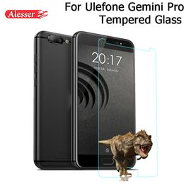 gemini pro Coupons - Alesser For Ulefone Gemini Pro T1 Tempered Glass Scratch-proof Explosion-Proof Screen Protector Film For Ulefone Gemini Pro T1