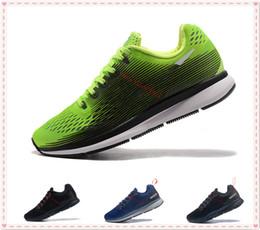 new styles a0c06 151dc 2017 Haute Qualité Knit Air Zoom Pegasus 33 Chaussures de Sport Triple Noir  Hommes designer chaussures Lunaire Chaussures de Course Formateur Sneakers  ...