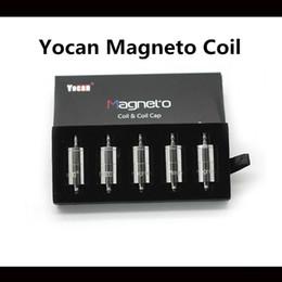 Yocan Magneto Coil Coil Kappe für Yocan Magneto E-Zigarette Spulen Heißer Verkauf NEUE 100% Authentische Kostenloser Versand Hohe Qualität von Fabrikanten
