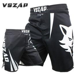 indossare i vestiti Sconti Alta qualità non sbiadisce VSZAP CHALLENGER MMA Pantaloncini da uomo Muay Thai Sanda Fight Combattimento di forma fisica Quick Dry Abbigliamento VS003